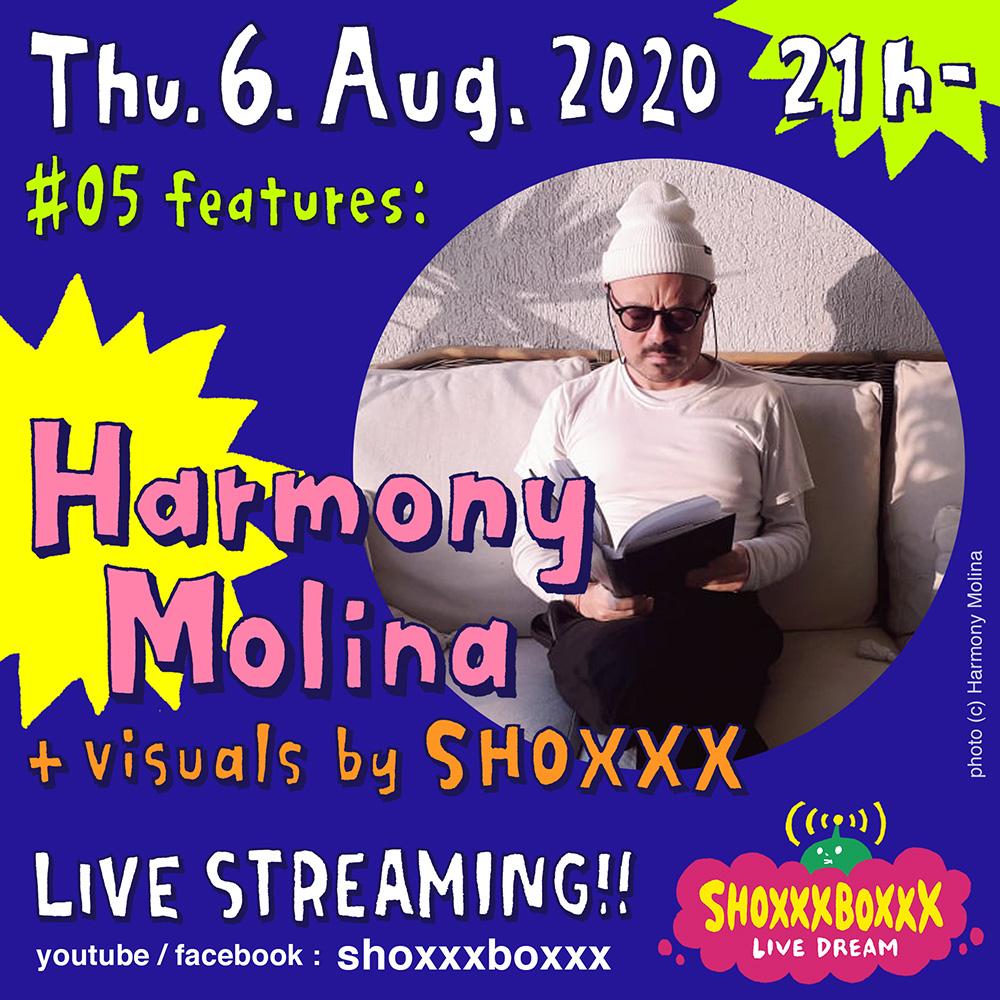 SHOXXXBOXXX LIVE DREAM #05 Harmony Molina