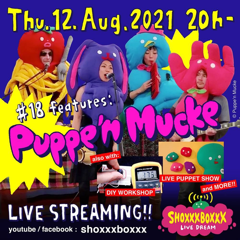 SHOXXXBOXXX LIVE DREAM #18 Puppe'n Mucke